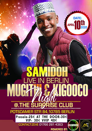 Surprise Club Berlin Samidoh Live