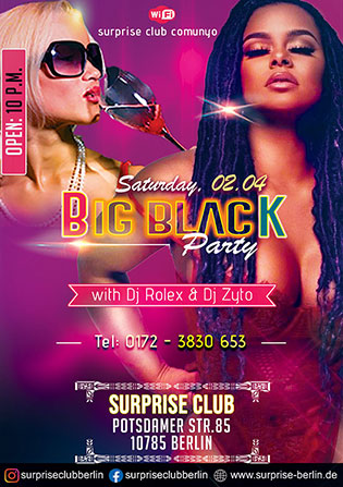 surprise club saturday party