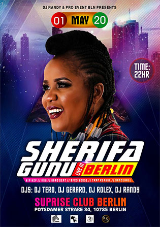 Surprise Club Berlin Sherifa Gunu Live